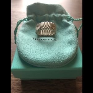 Tiffany's silver mesh ring